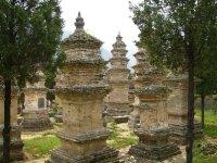 680 China Luoyang -  Shaolin pagodas