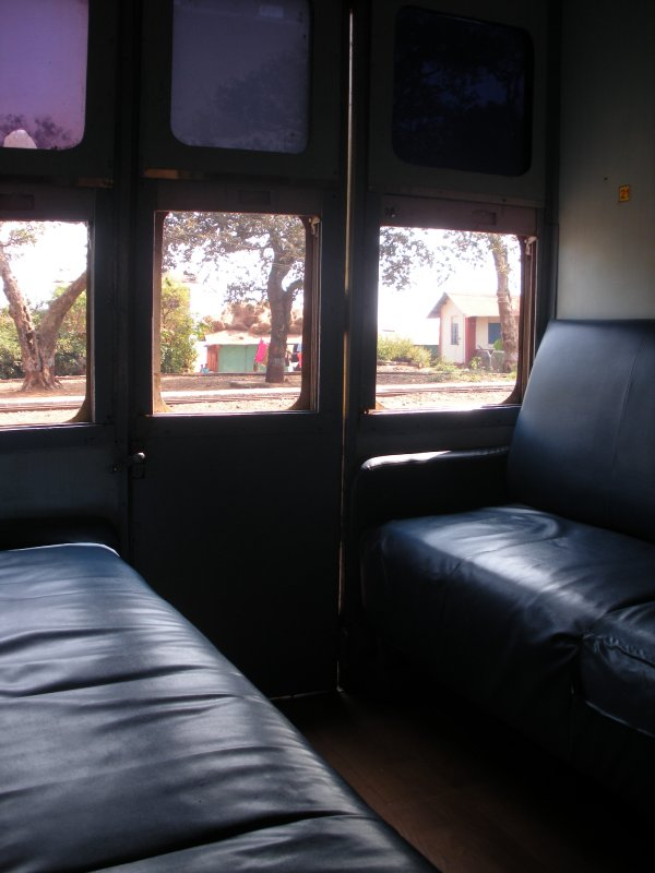 Another glimpse of the first class compartment