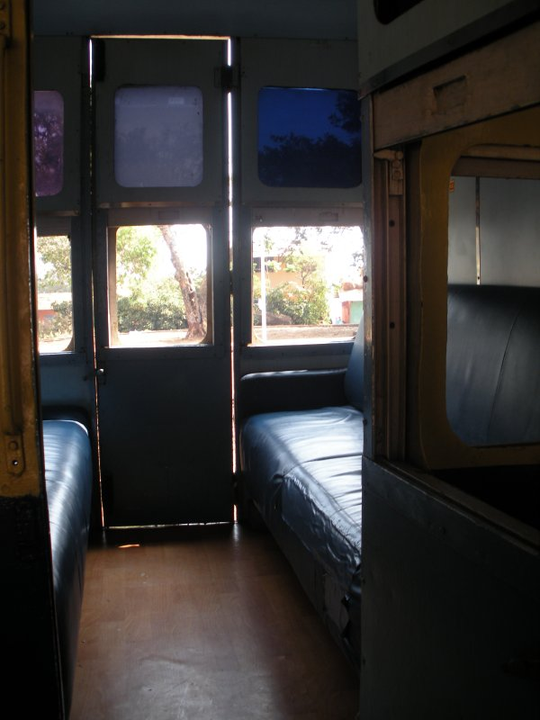 First class compartment