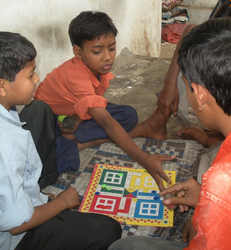 A quick game of Ludo