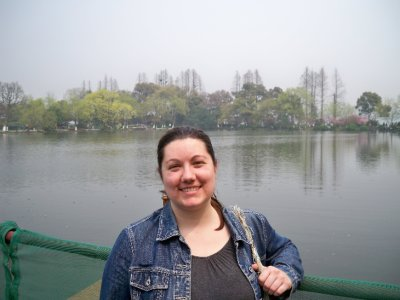 Megan at the West Lake