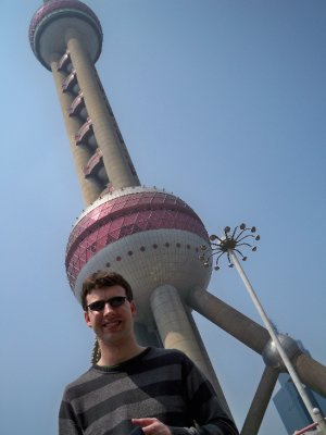 Bill at the Pearl TV Tower