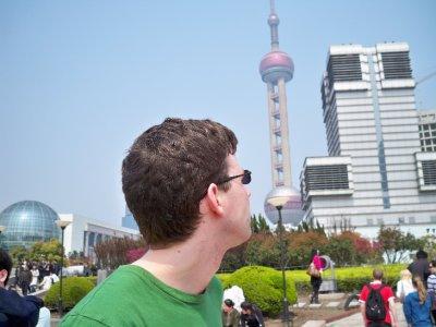 Bill on the Yangtze riverbank