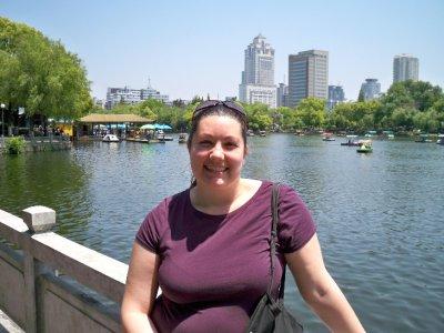 Megan at Moon Lake