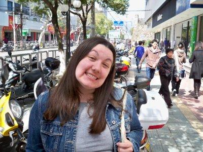 Megan in central Lishui