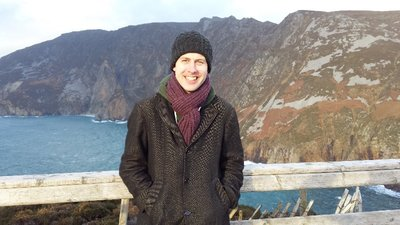 Me at Slieve League