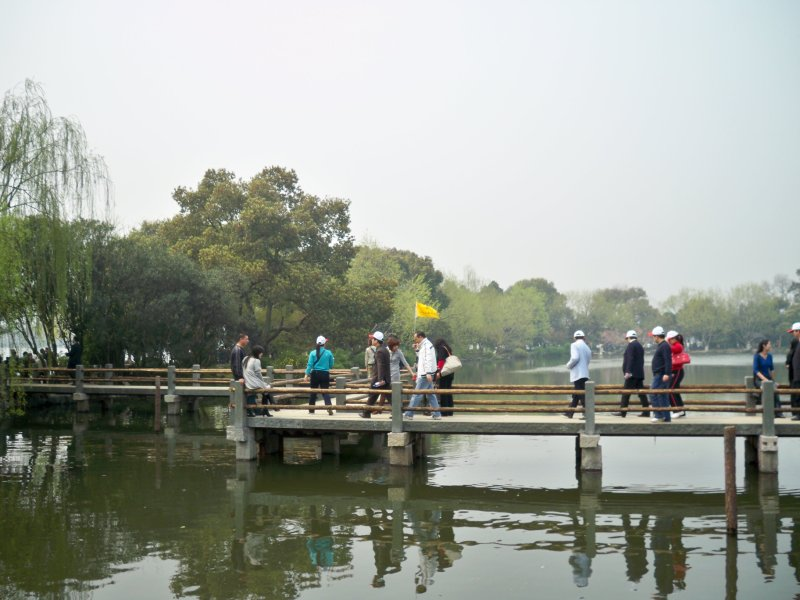 The West Lake - silly tour group