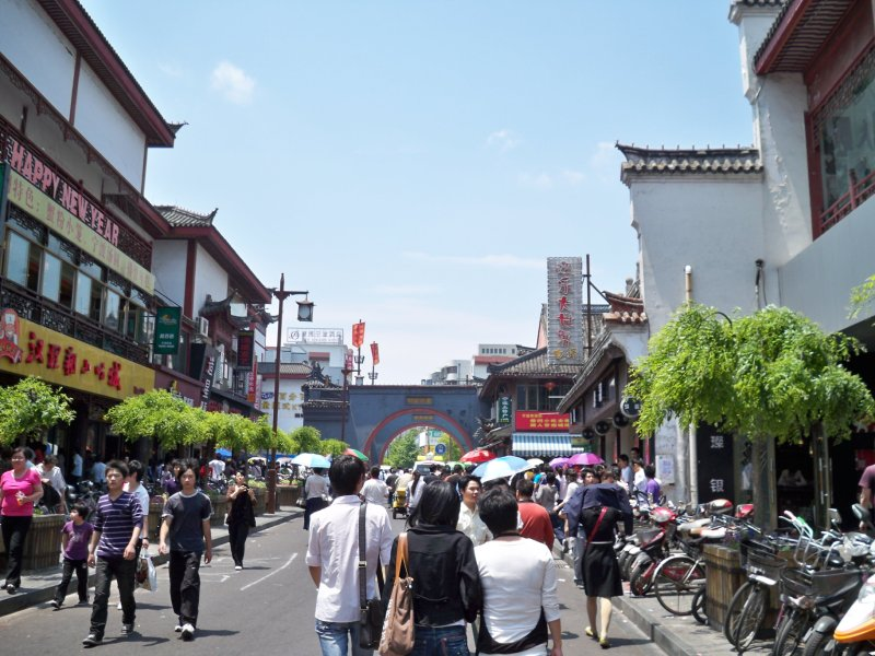 Ningbo shopping area