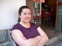 Megan at New York-Style Pizza