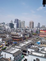 Ningbo as seen from Tianfeng Pagoda