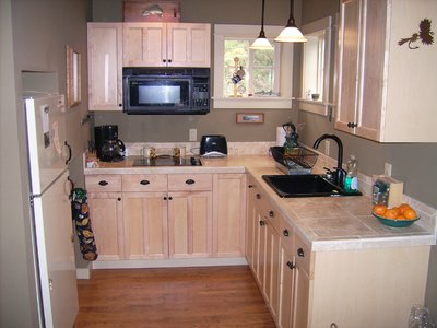 Kitchen at Clark Fork River Getaway Near Superior, MT