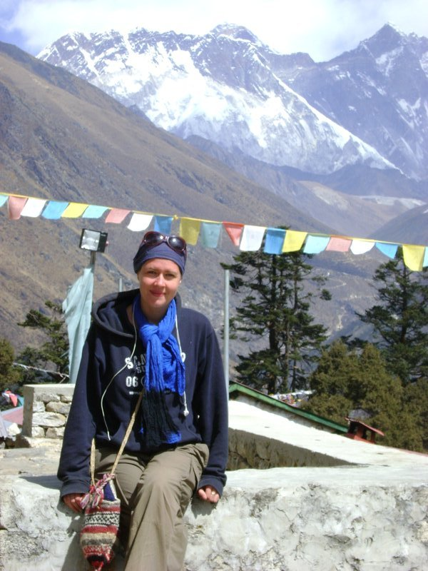 Teng Boche Monastary with Everest in the Background