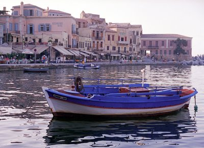 Hania Fishing Boat