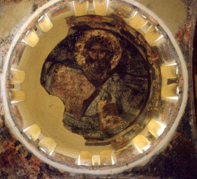 Byzantine Dome Fresco