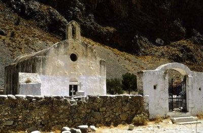 Church Agia Rumelli Crete