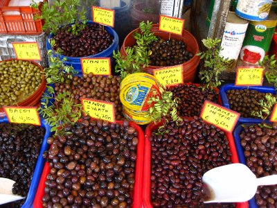 Olives in Athens