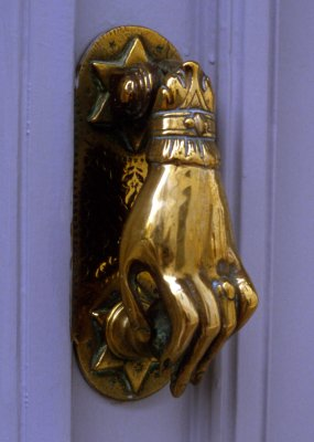 Brass Door Knocker Hydra