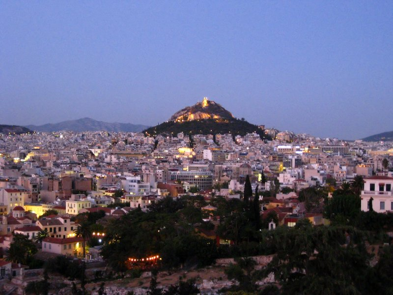 Mt Lycabettus in Athens