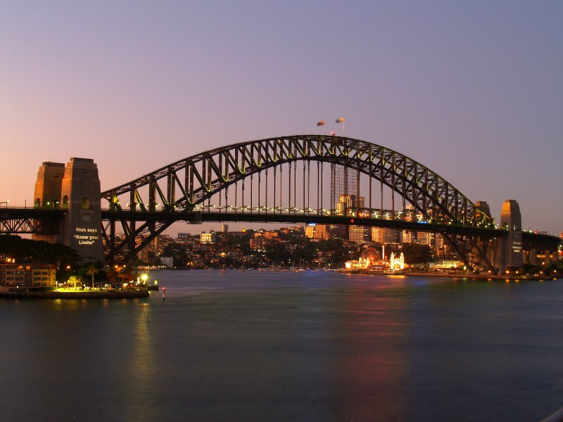Sydney Harbour Bridge at Dawn 2