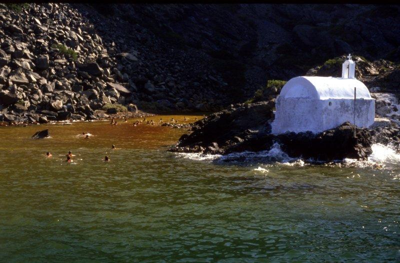 Santorini Volcanic Outlet