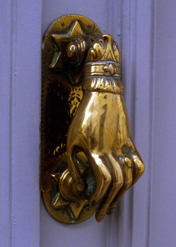 Brass Door Knocker Hydra