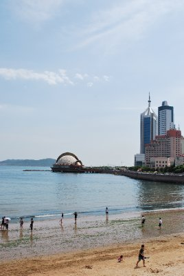 Qingdao&#39;s beach