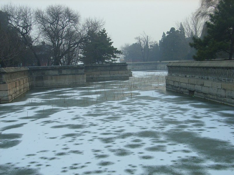 Frozen Lake, beijing