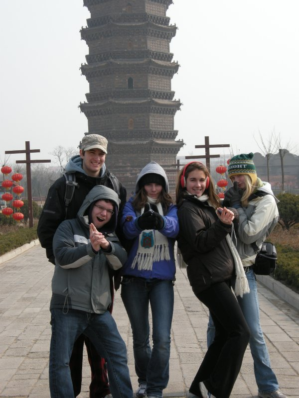 Our group at the Iron Pagoda