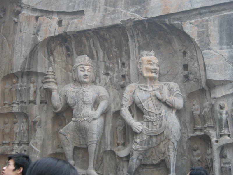 Dancing Buddhas