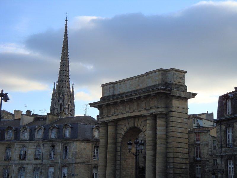 Gate in Bordeaux