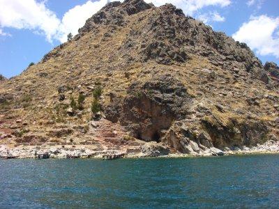 Bolivian shoreline