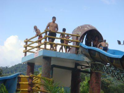 Jordan on slide