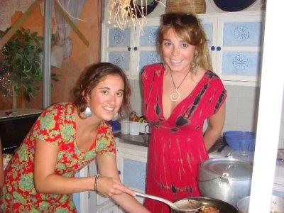 Mikala and Olivia