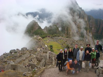 group with Machu