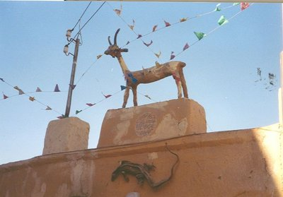 nubian village decoration