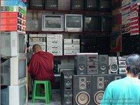 MYA- Monk in TV Store