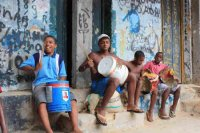 Kids in the Rio Favelas