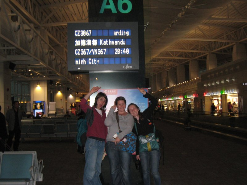 airport- going to Nepal!