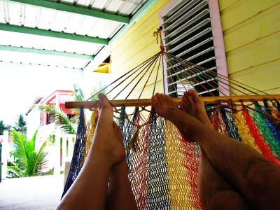 In Belize Siesta Time is all the Time