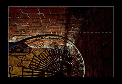 Choir Loft Staircase