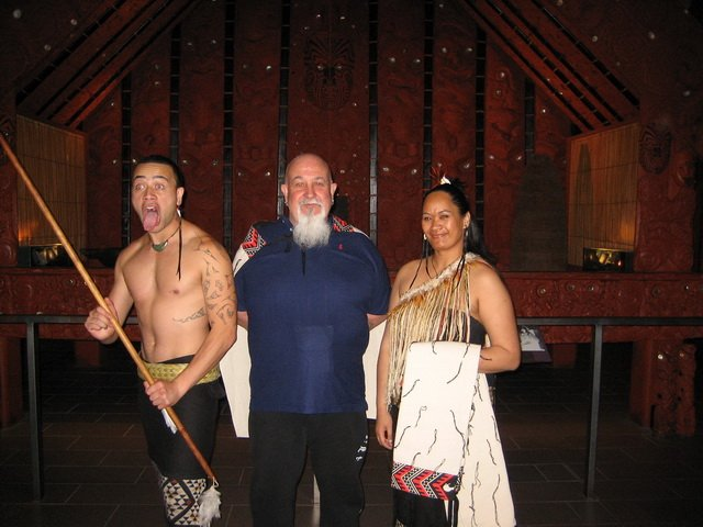 Maori for the day New Zealand