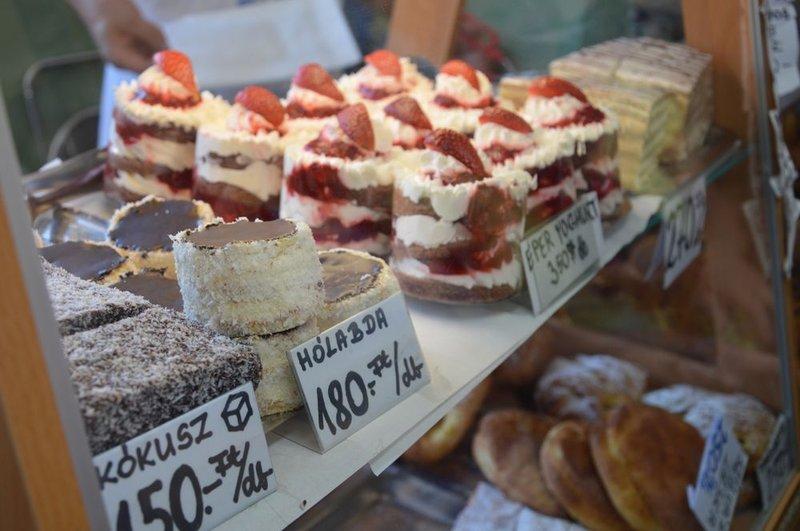 Cakes in Hévíz