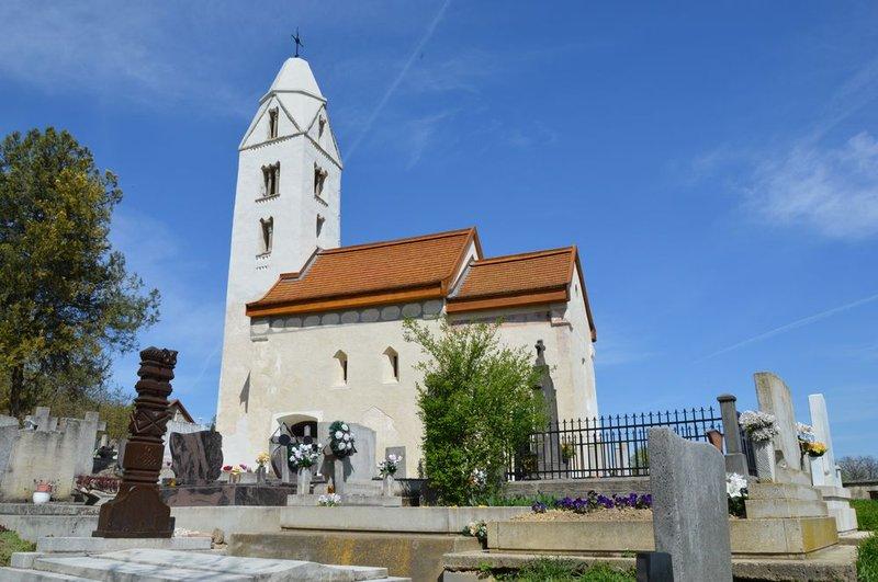 Church from the Arpadian age Hévíz