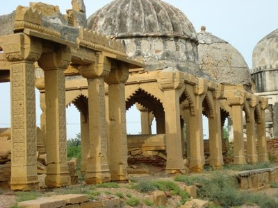 Royal Grave Yard of Ruler of Mirpurkhas