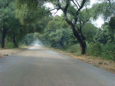 Hyderabad-Mirpurkhas Road