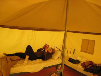 Nicole Relaxing