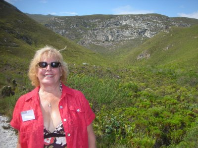 Fernkloof Mountain Nature Reserve in Hermanus, east of Cape Town