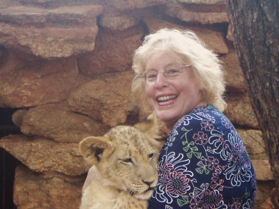 Lions in Sun City, South Africa