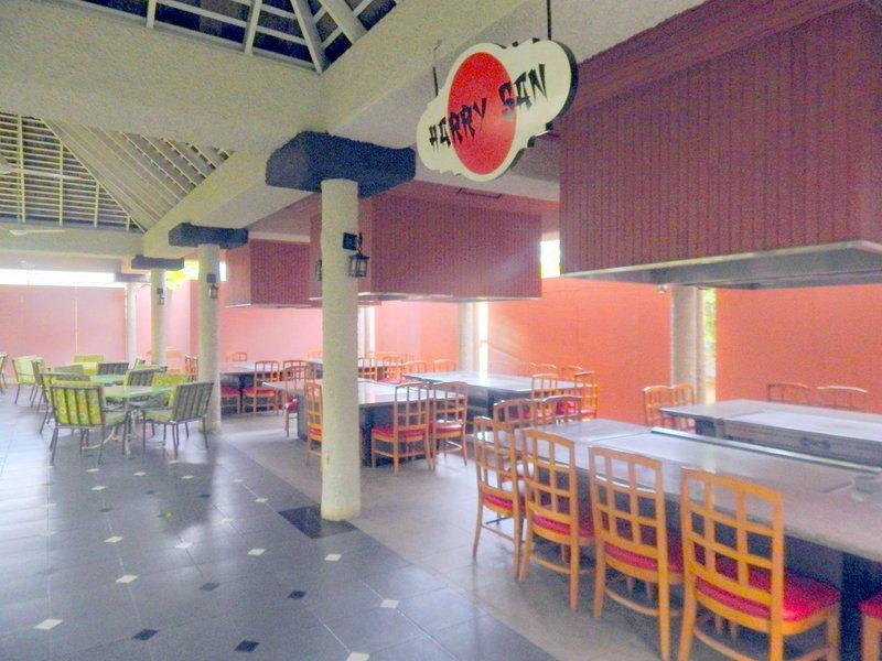 Expanded Harry San teppanyaki dining area