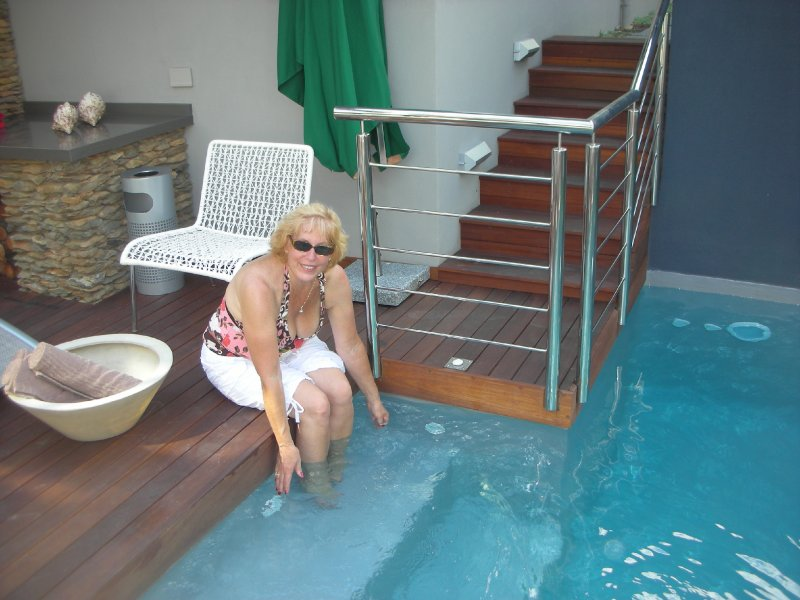I stayed at the 5 star Selkirk Guest Home in Hermanus